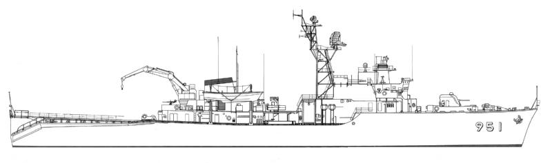 99-022 海上自衛隊機雷敷設艦 MM...